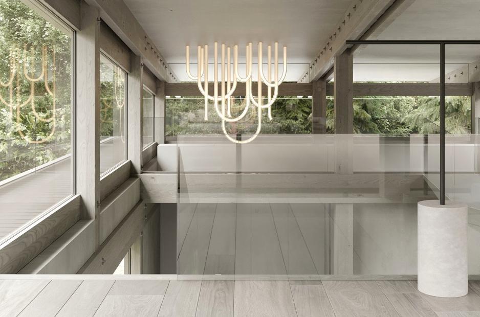 Distinctive ceiling lighting